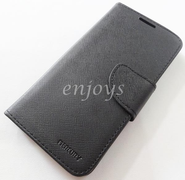 MERCURY Fancy Diary Case Cover Asus Zenfone Go ZC500TG ~BLACK *XPD