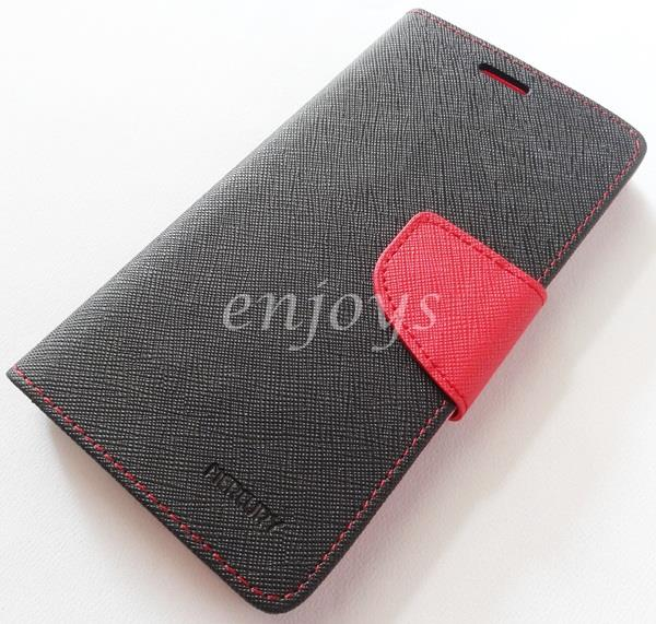 MERCURY Fancy Diary Case Cover Pouch Lenovo Vibe X S960 ~BLACK *XPD