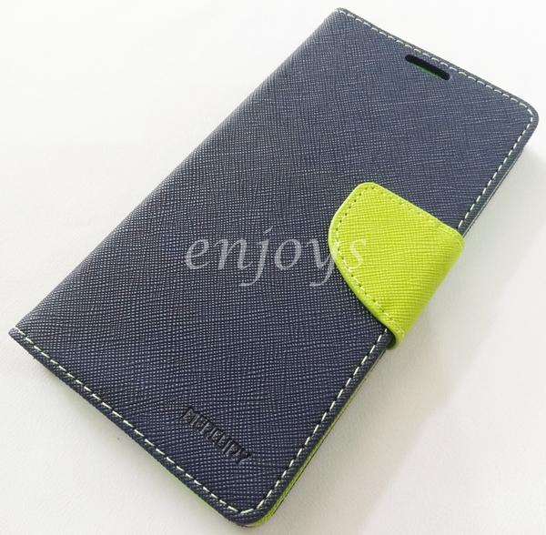 MERCURY Fancy Diary Case Cover Samsung Galaxy A7 / A700FD ~NAVY *XPD