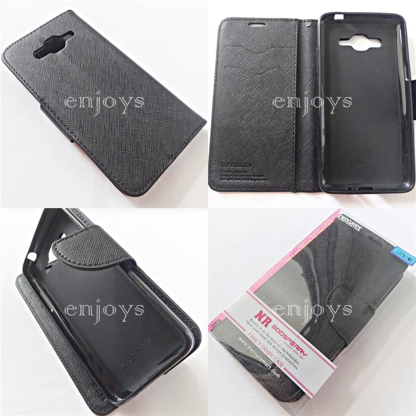 MERCURY Fancy Diary Case Cover Samsung Galaxy J2 Prime G532F G532 *XPD
