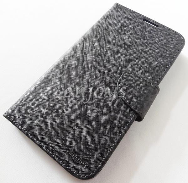 MERCURY Fancy Diary Case Cover Samsung Galaxy Mega 2 /G750F BLACK *XPD
