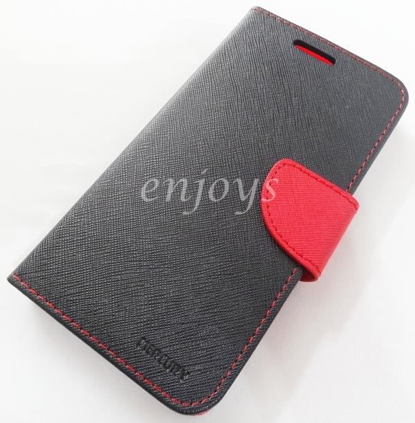 MERCURY Fancy Diary Case Cover Samsung Galaxy Note 5 /N9208 BLACK *XPD