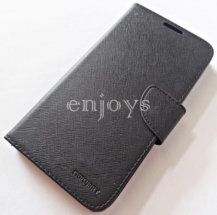 MERCURY Fancy Diary Case Cover Sony Xperia C5 Ultra /E5563 ~BLACK *XPD