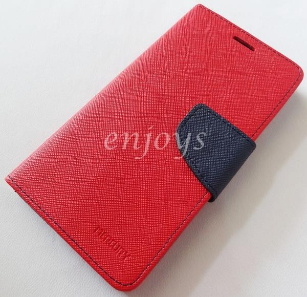 MERCURY Fancy Diary Case Cover Sony Xperia Z2 / D6502 D6503 ~RED *XPD