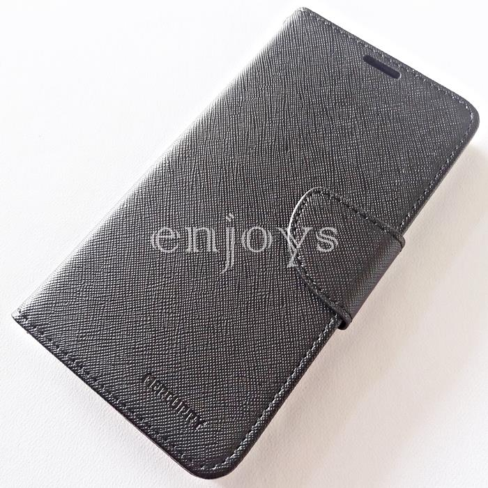 MERCURY Fancy Diary Case Flip Cover Huawei Mate 9 Pro (5.5) BLACK *XPD