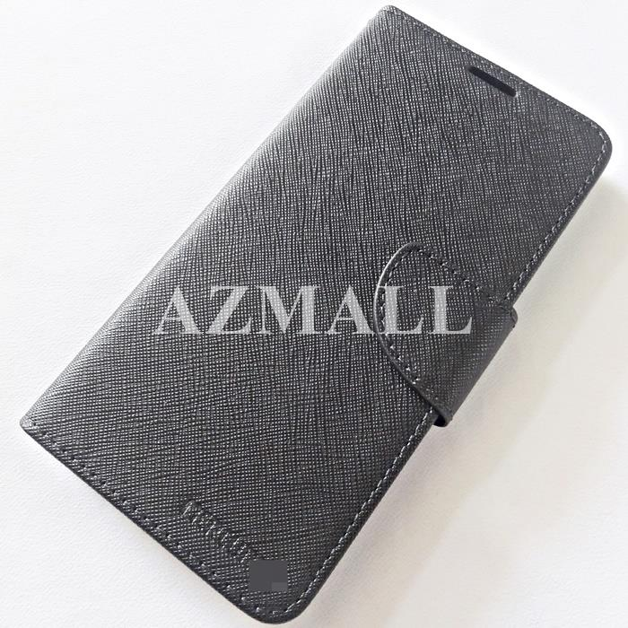 "MERCURY Fancy Diary Case Flip Cover Xiaomi Mi8 Mi 8 (6.21"") ~BLACK"