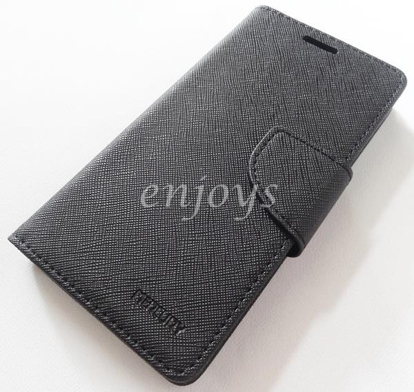 MERCURY Fancy Diary Case Samsung Galaxy Grand Prime G530H ~BLACK *XPD