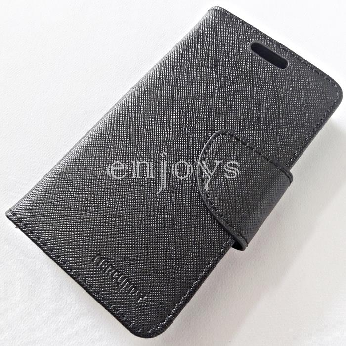 MERCURY Fancy Diary Case Samsung Galaxy Trend S7560 S7562 S7580 ~BLACK