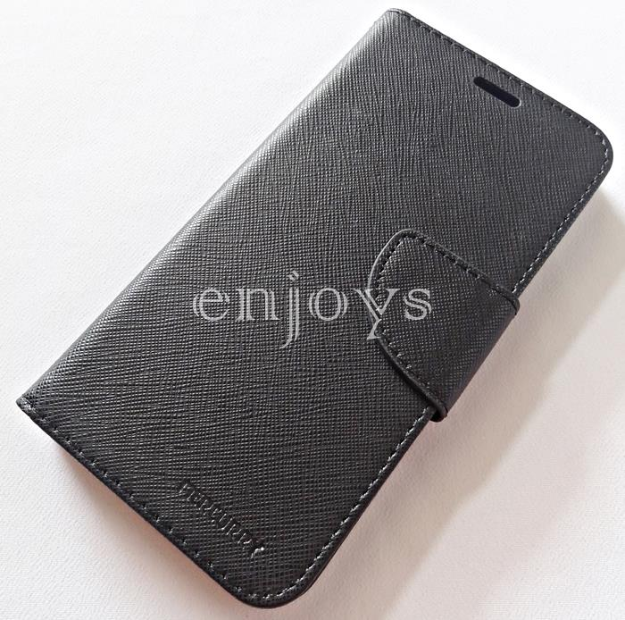 MERCURY Fancy Diary Stand Case Cover Huawei P10 (5.1) ~BLACK *XPD