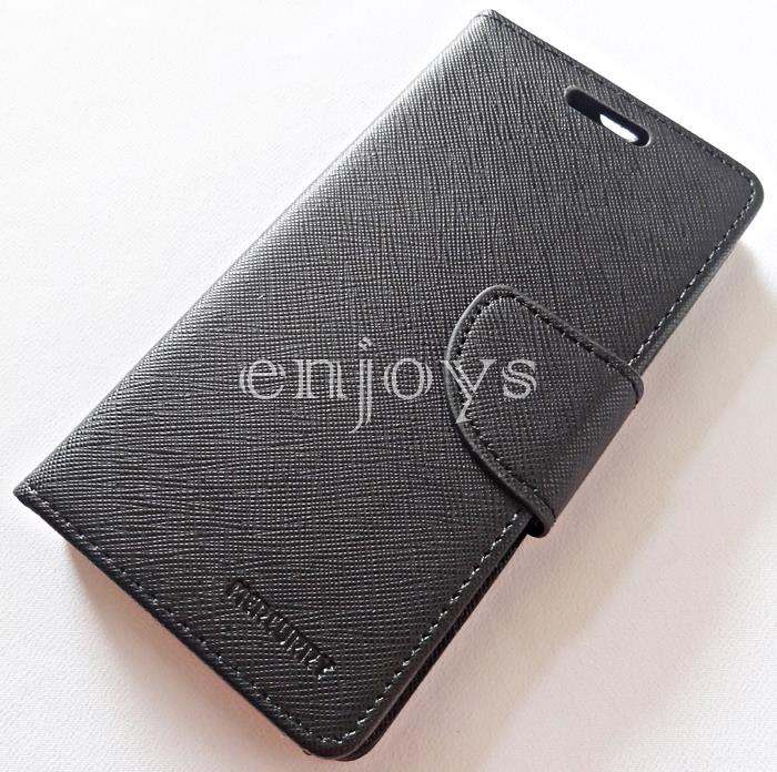 MERCURY Fancy Diary Stand Case Cover Xiaomi Redmi 3s /Prime BLACK *XPD