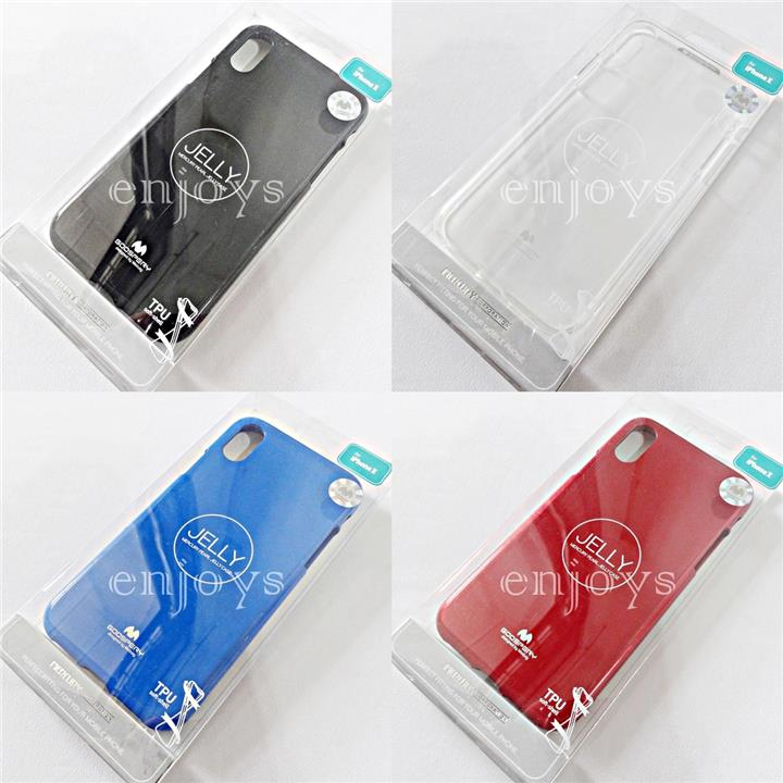 MERCURY GOOSPERY Pearl Jelly TPU Back Case Apple iPhone X (5.8) *XPD