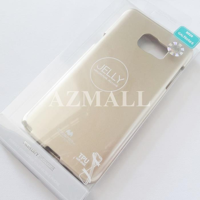 MERCURY GOOSPERY Pearl Jelly TPU Case Samsung Galaxy Note 5 N9208 *XPD