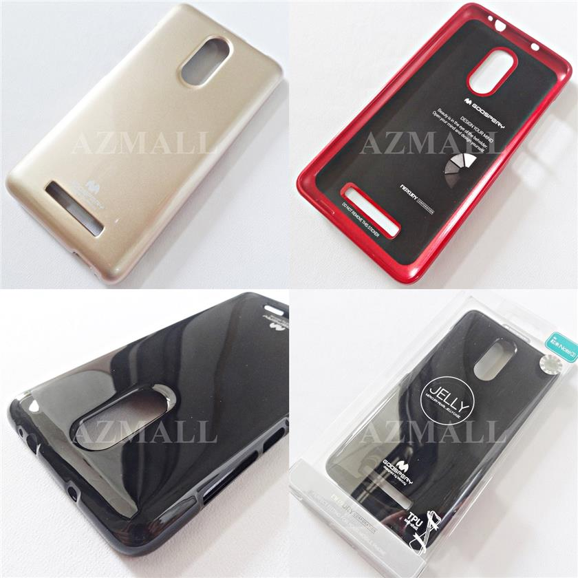 MERCURY GOOSPERY Pearl Jelly TPU Back Case Xiaomi Redmi Note 3 /3 Pro