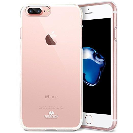 hot sale online 562a4 13284 Mercury Jelly iPhone SE 5S 5 6 7 8 X Plus TPU Transparent Case Cover
