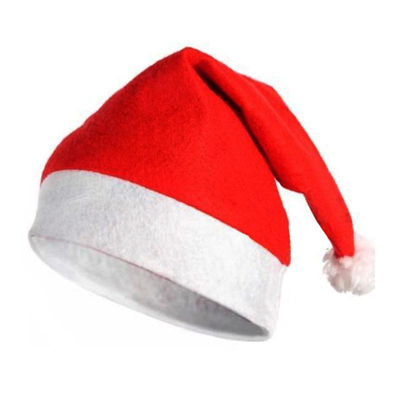 23adc493bcf92 Merry Christmas Hats Santa Claus Costume Xmas Party Hat Adult Unisex