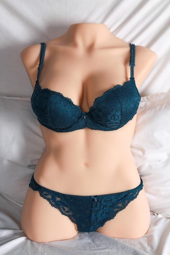 Mesedoll 71CM Half Body Big Boobs Double Hole Silicone Doll Toys Sex
