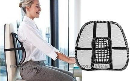 Incroyable Mesh Back Support With Lumbar Reflexology Massage Points: Hot Selling. U2039 U203a