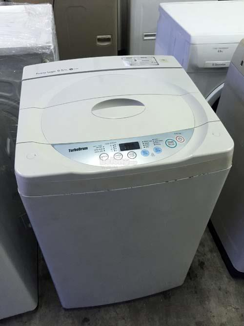 Mesin Basuh LG White Auto Washing Machine Top Load Fully Automatic Aut