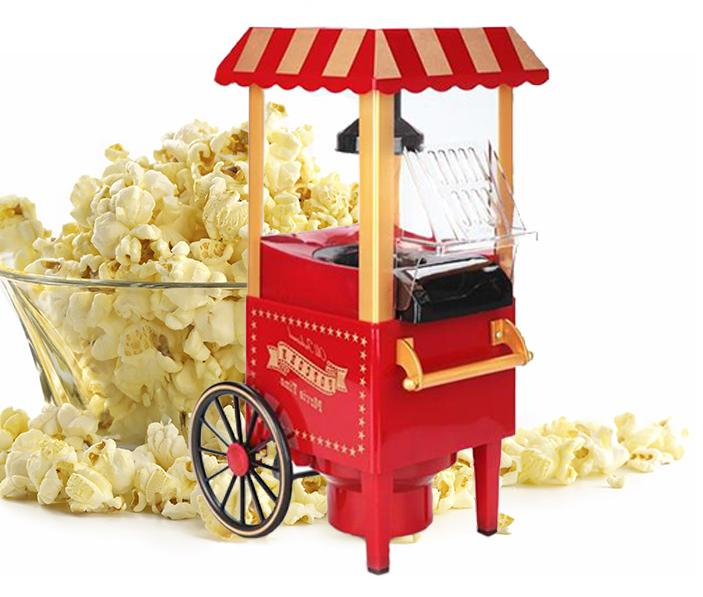 old fashioned popcorn machine instructions