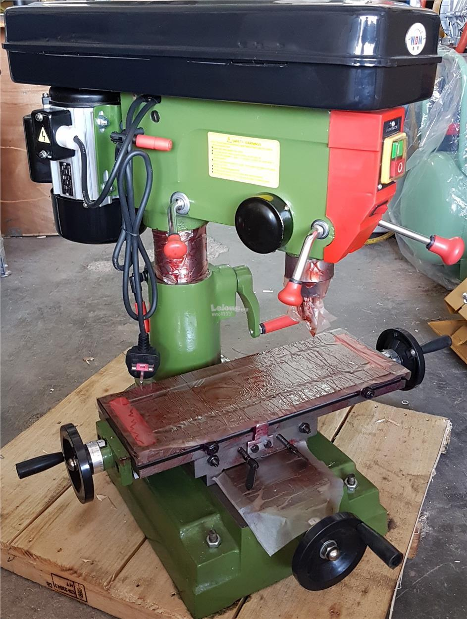 metal cutter hole bench drill mill press drilling and milling machine