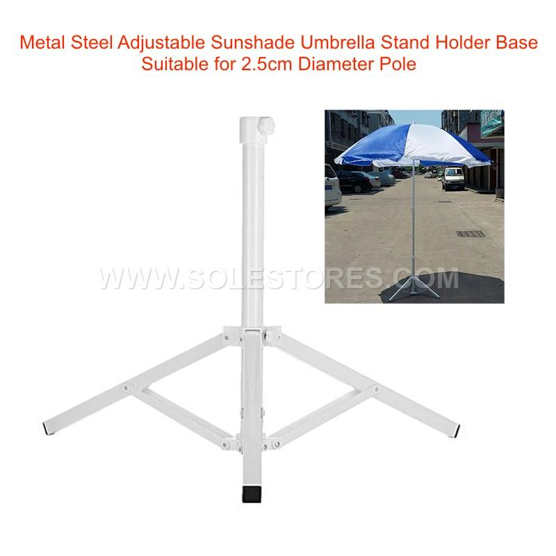 Metal Steel Adjustable Sunshade Umbrella Stand Holder Base