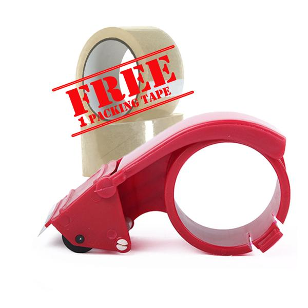 metal tape dispenser cutter free 1 roll shipping packing tape