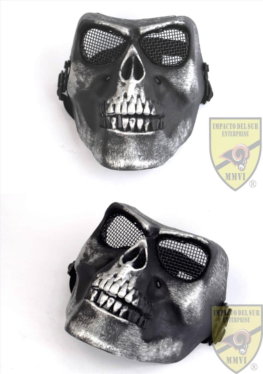 METAL WIRE MESH FULL FACE MASK SKULL (end 1/17/2019 6:15 PM)