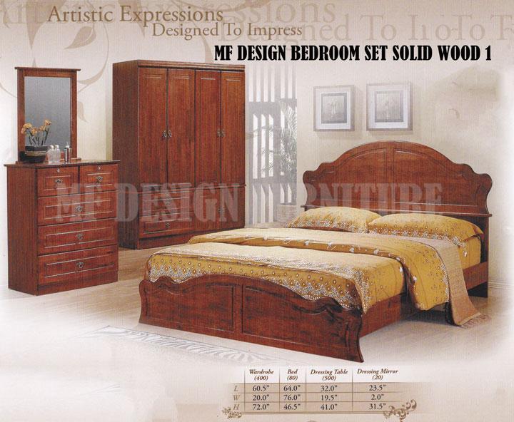Set Bilik Tidur Kayu Desainrumahid
