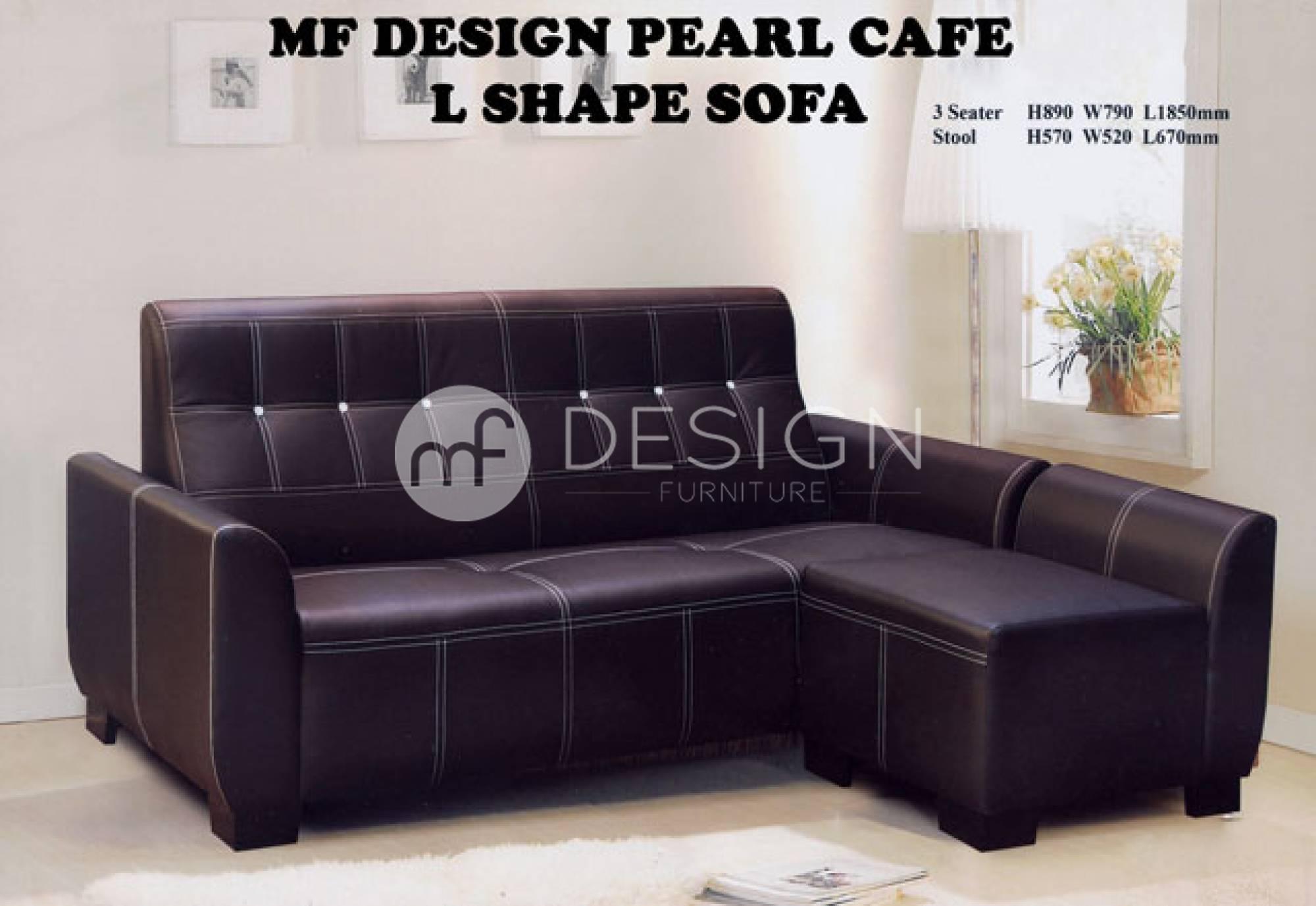 mf design pearl cafe l-shape sofa (end 5/27/2019 3:02 pm)