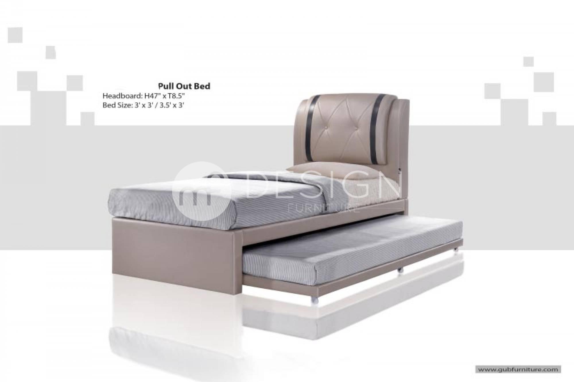 single bed size design. MF Design Saarland Single Pull Out Divan Bed Size K
