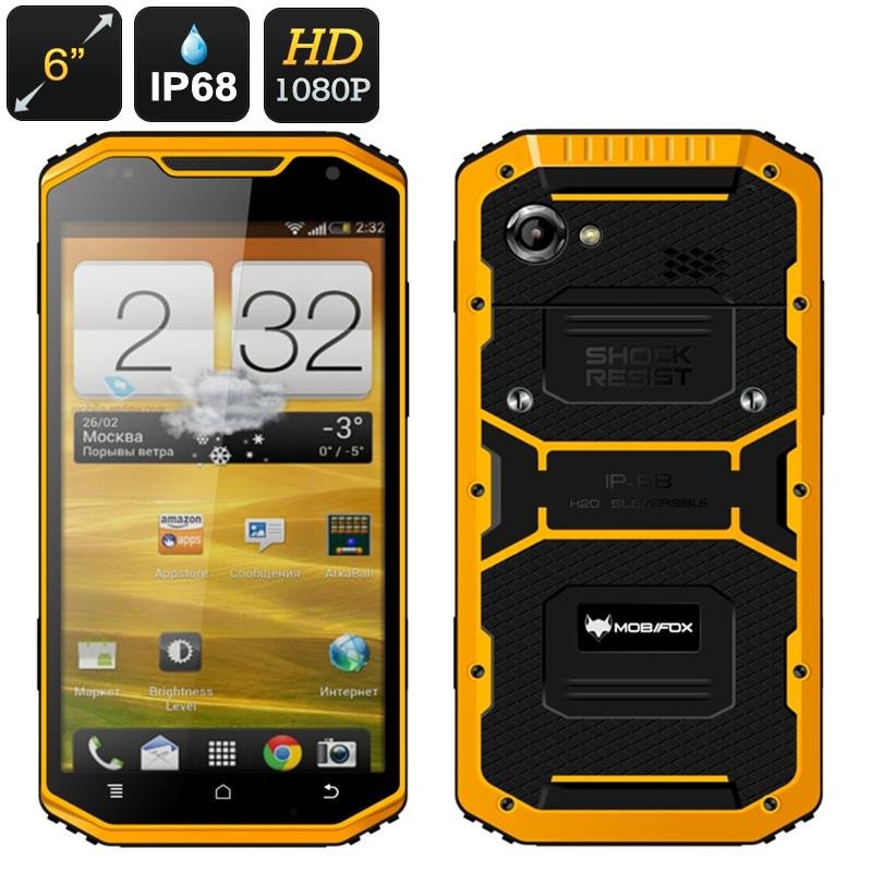 Mfox A8 Military Rugged 6 Inch Smartphone Ip68 Mil Std 810g Certifi