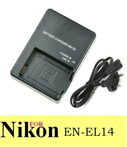 MH-24 MH24 Battery Charger for Nikon EN-EL14 D5300 D3100 D3200 D5100 P. ‹ ›