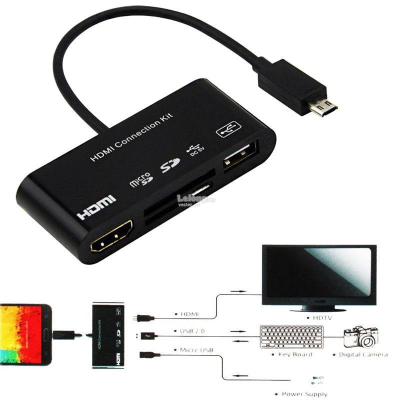 MHL OTG / Dock / HDMI Samsung Galaxy S3 S4 S5 Note 2 3