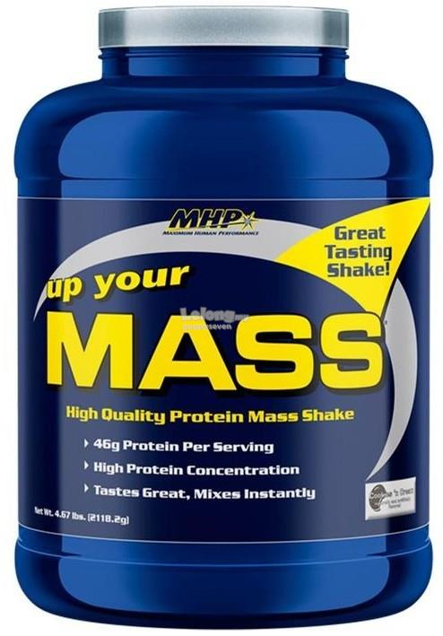 MHP Up Your Mass 5lbs (KEMEK DENTED) (WEIGHT GAINER PROTEIN)