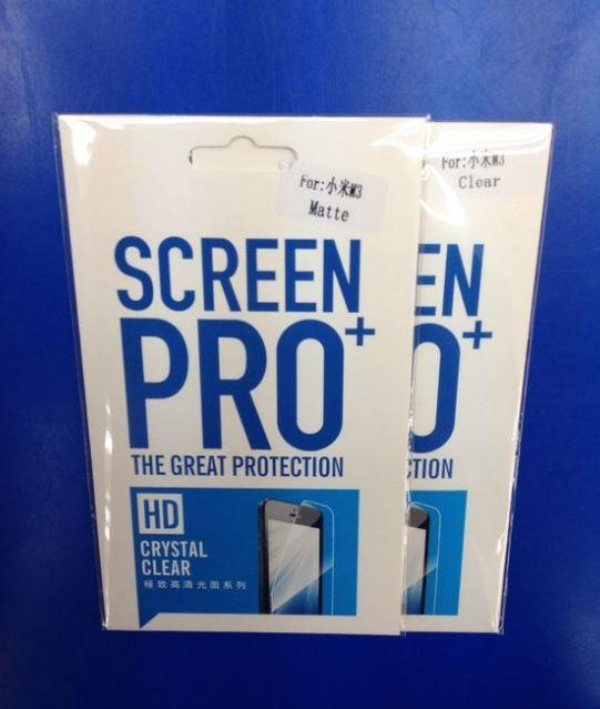 Mi MAX Mi3 Mi4 Mi4i Mi4S Mi5S Redmi Note 2 3 4A 4XPRO Screen Protector