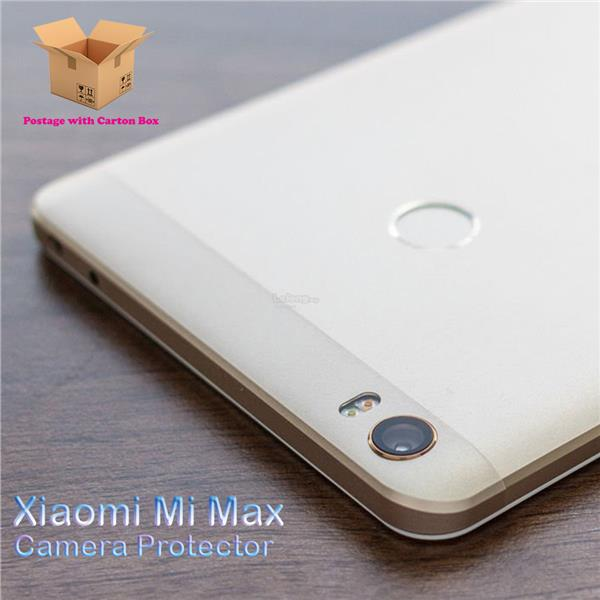 Mi Max Tempered Glass Camera Protector