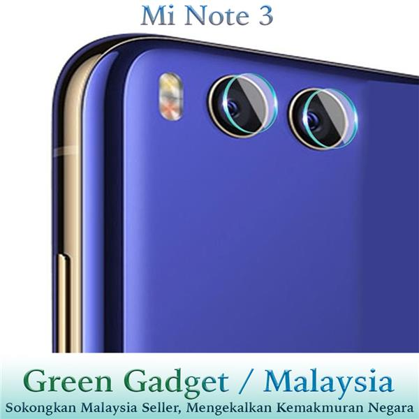 Mi Note 3 Camera Protector Flexible Glass (2pcs)
