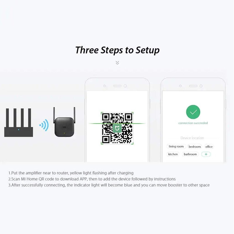 Mi Wifi Pro 300Mbps Wifi Repeater Wifi Signal 2.4G Extender WIRELESS R