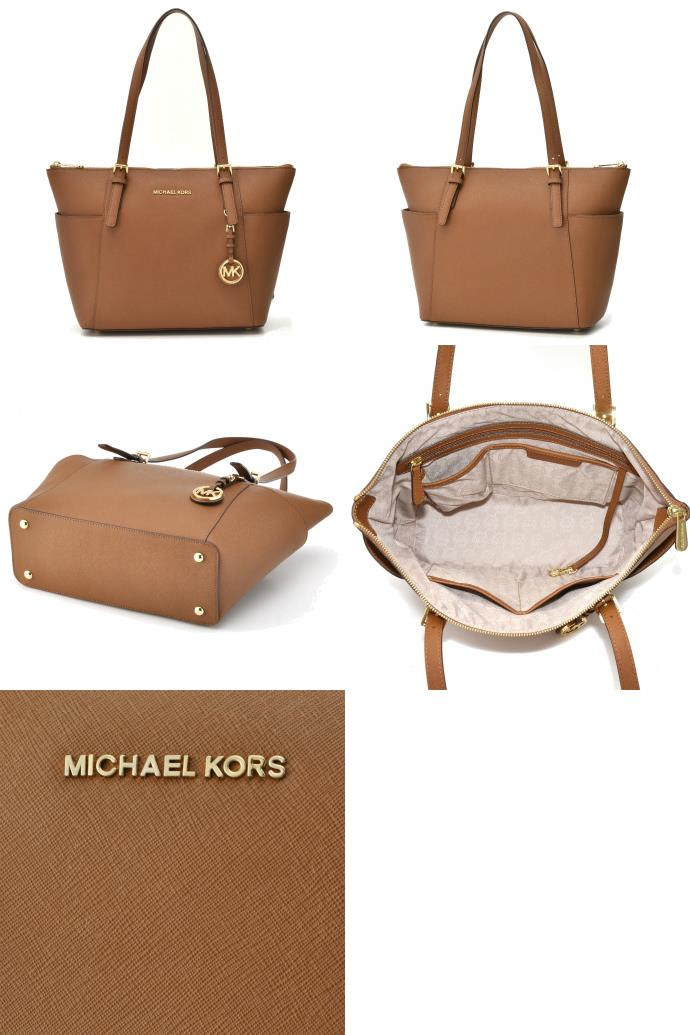 Bolsa Michael Kors Jet Set Saffiano : Michael kors jet set saffiano tote i end am
