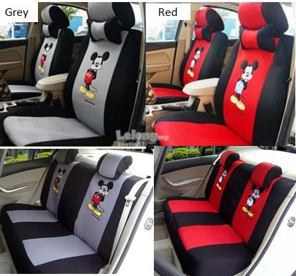 Mickey CAR SEAT COVER Thick Fabric FREE Shipping