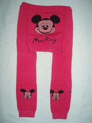 NEW MICKEY DARK PINK LEGGING
