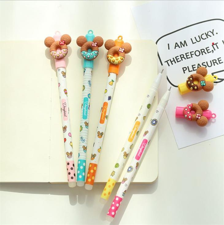 Mickey Donut Magic Eraseable Gel Ink Pen (Pen Boleh Padam)