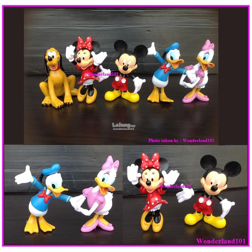 Mickey/Minnie/Donald Duck 9.5-11cm (end 3/17/2019 12:15 PM)