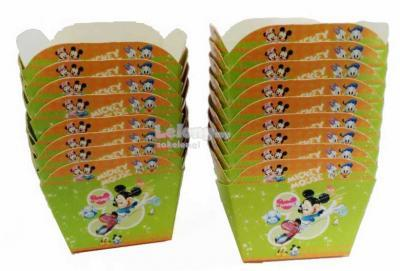 Mickey Mouse Cupcake Wrappers 20 pcs