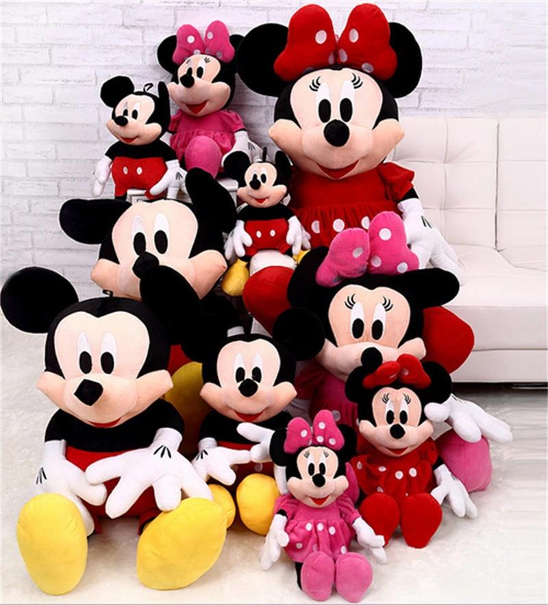 1ff86bd42d2 Mickey Mouse   Minnie Mouse Stuffed Soft Plush Toys High Quality Gift. ‹ ›