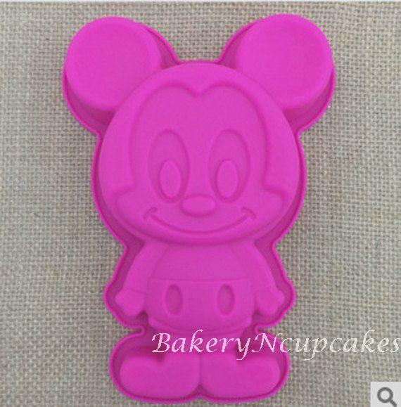 Mickey Mouse Silicone Baking Mould