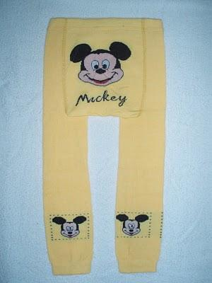 NEW MICKEY YELLOW LEGGING
