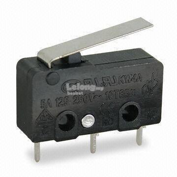 Micro Switch without Roller 12mm limit switch