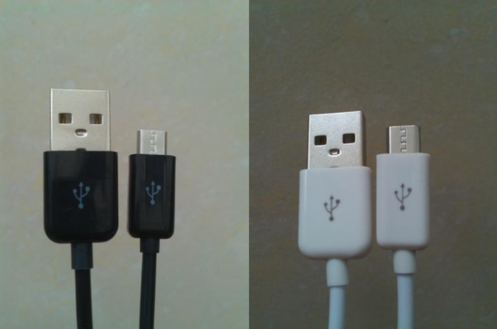 Micro USB Data and Charger cable for Galaxy S3 S4, Android, Power Bank