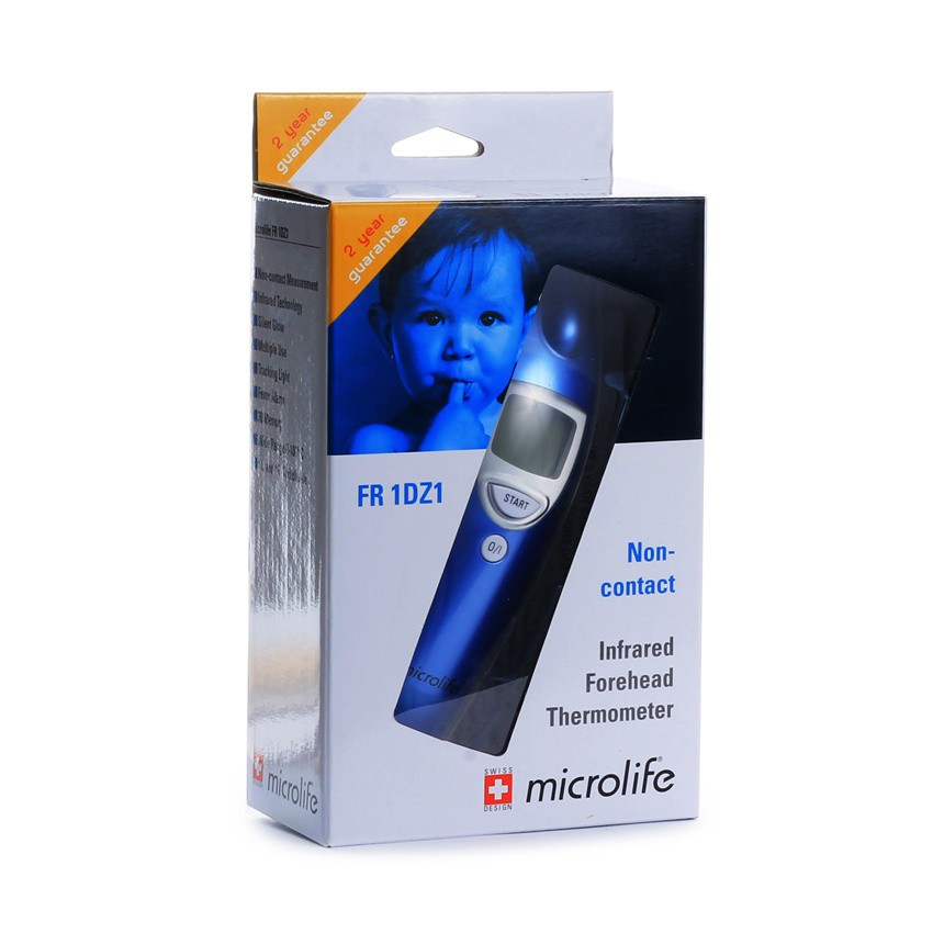 MICROLIFE INFRARED FOREHEAD THERMOMETER FR1DZA